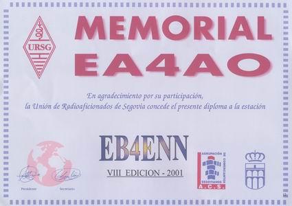 Memorial_ea4ao_2001